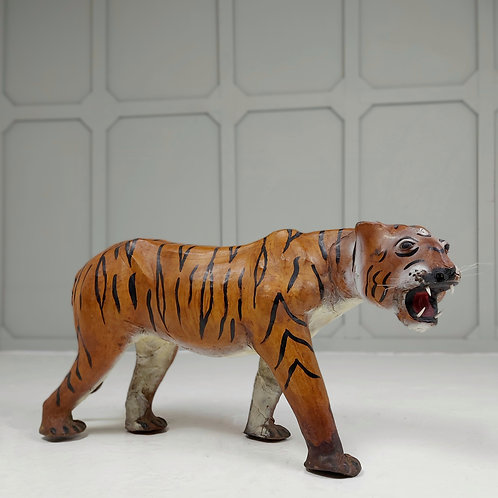 Painted Leather Tiger