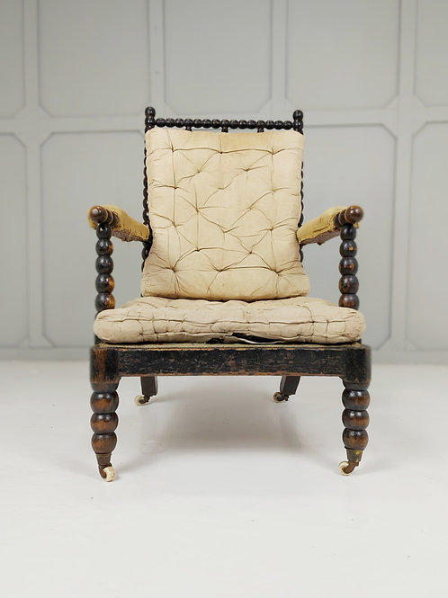 19th Century Bobbin Turned Armchair