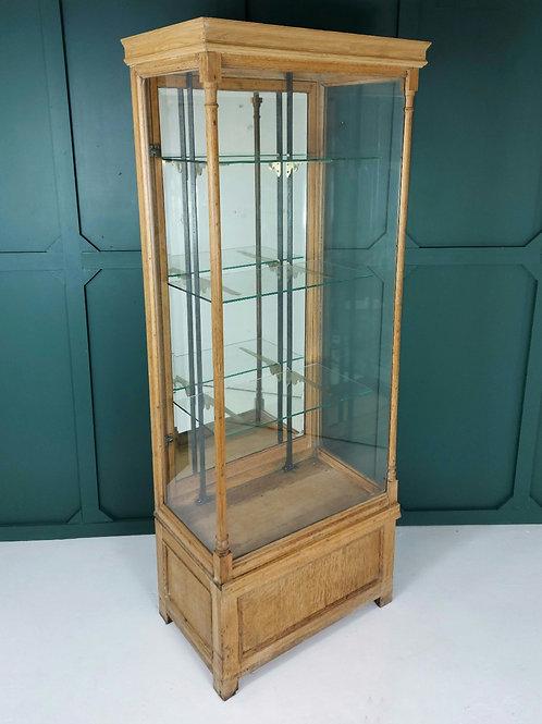 Large 1920's Shop Display Case Vitrine