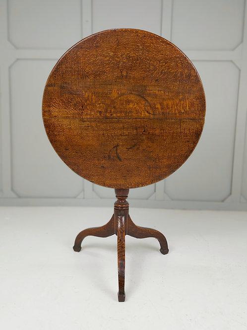 Oak George III Tilt Table