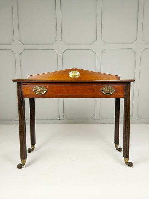 Mahogany Console Table 'PAUL MILLER 1819'