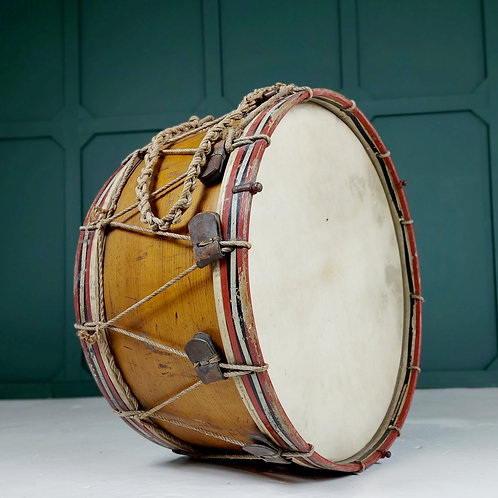 19th Century Military Bass Drum