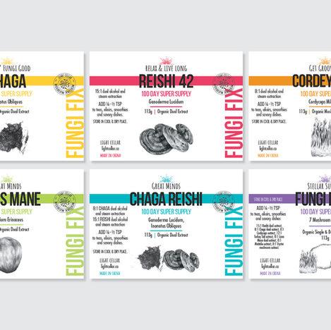 Light Cellar Packaging Design