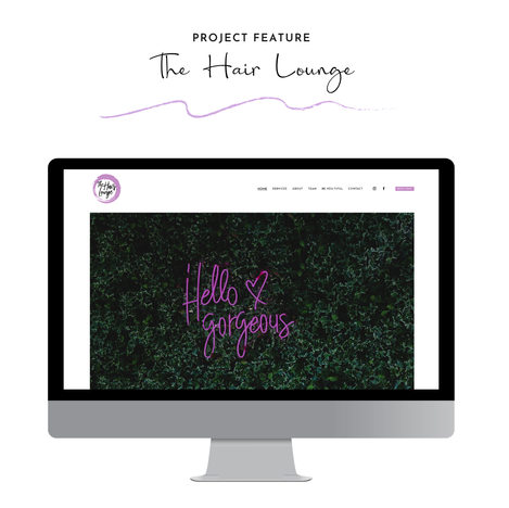 The Hair Lounge Website