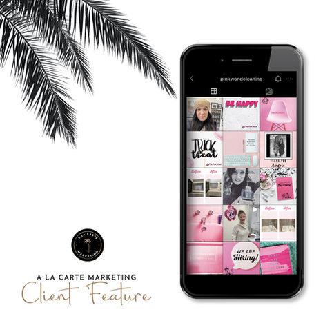The Pink Wand Design + Social Media Management