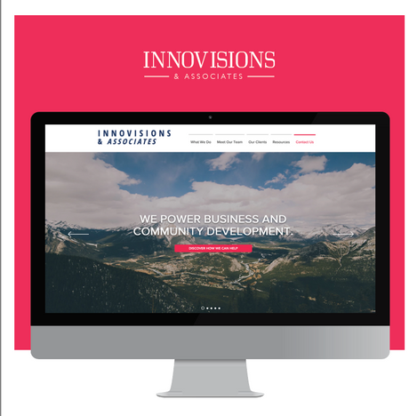 Innovisions Website Design