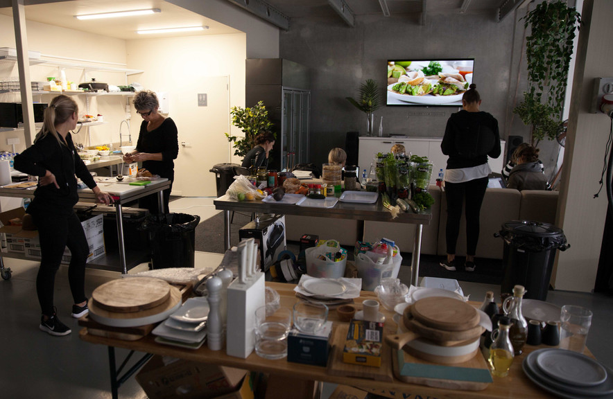 Working Studio - Food Shoot