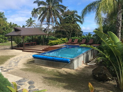 Swimming Pool and Pergola