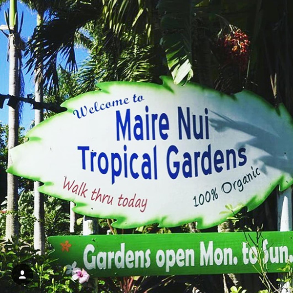 Maire Nui Gardens & Cafe