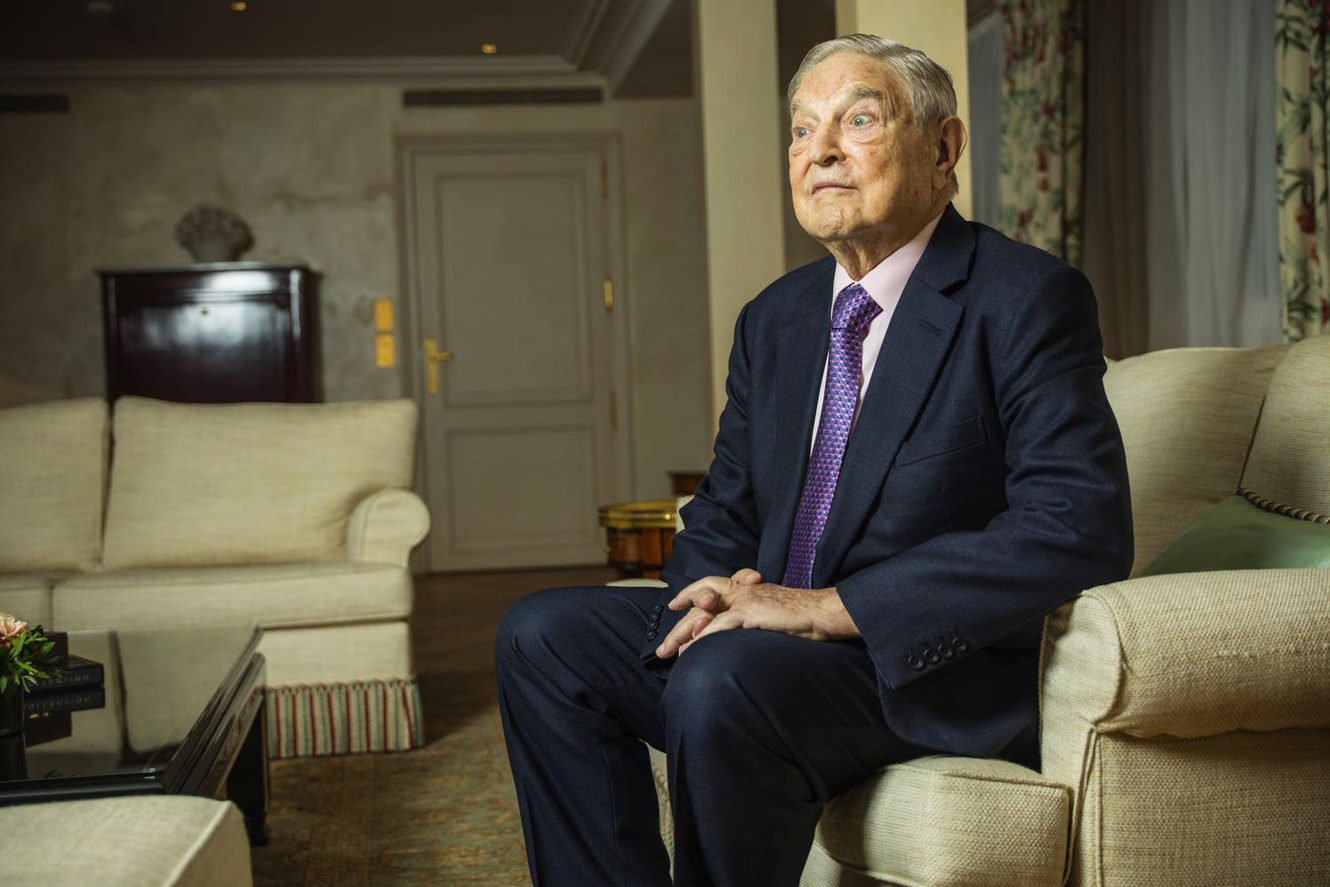 George Soros, Paris, 2015