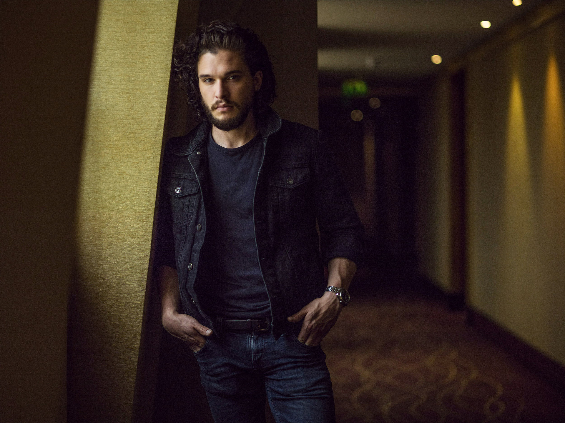 Kit ­Harington, Paris, 2015