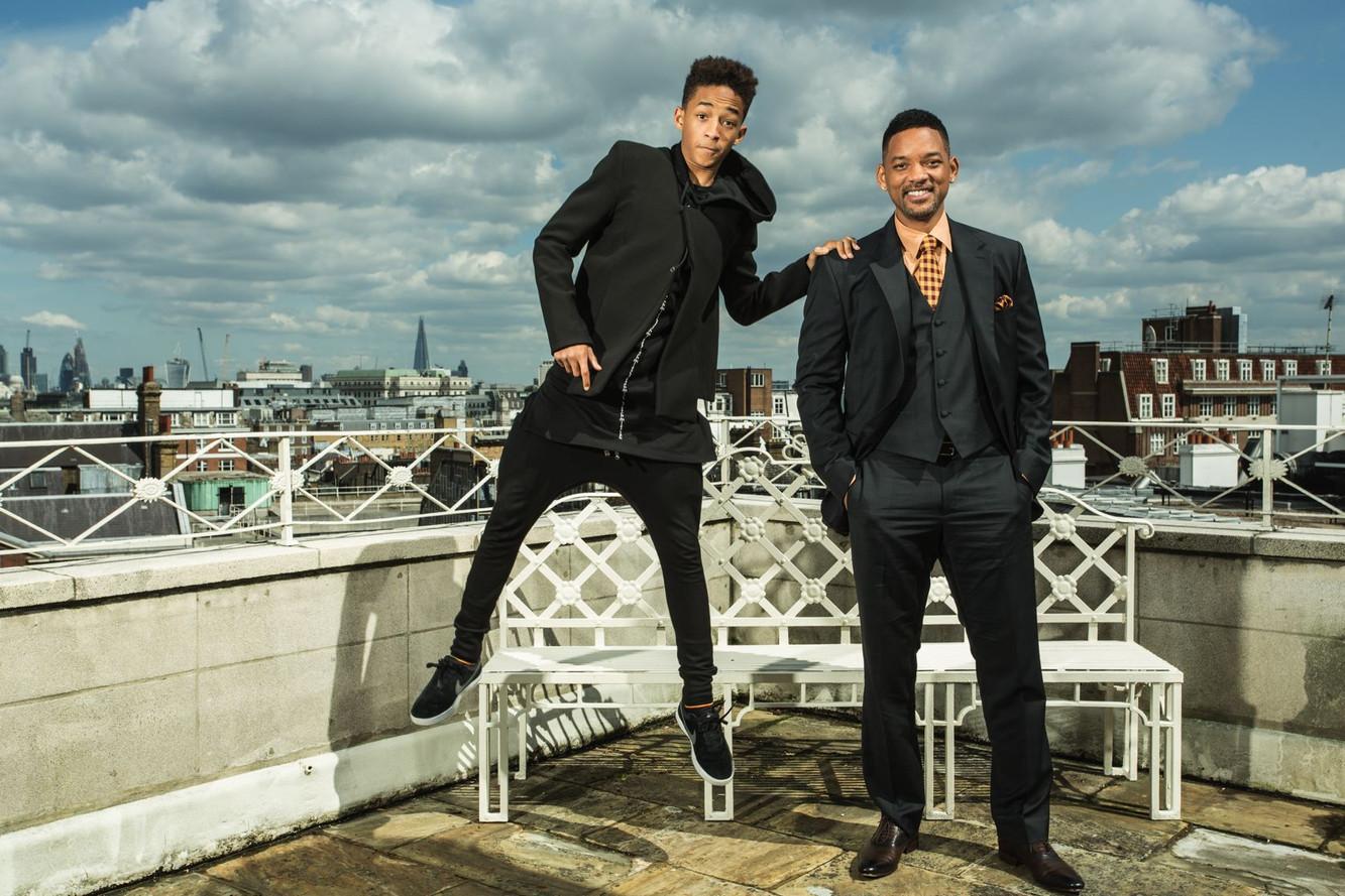 Will et Jaden Smith, Londres, 2014