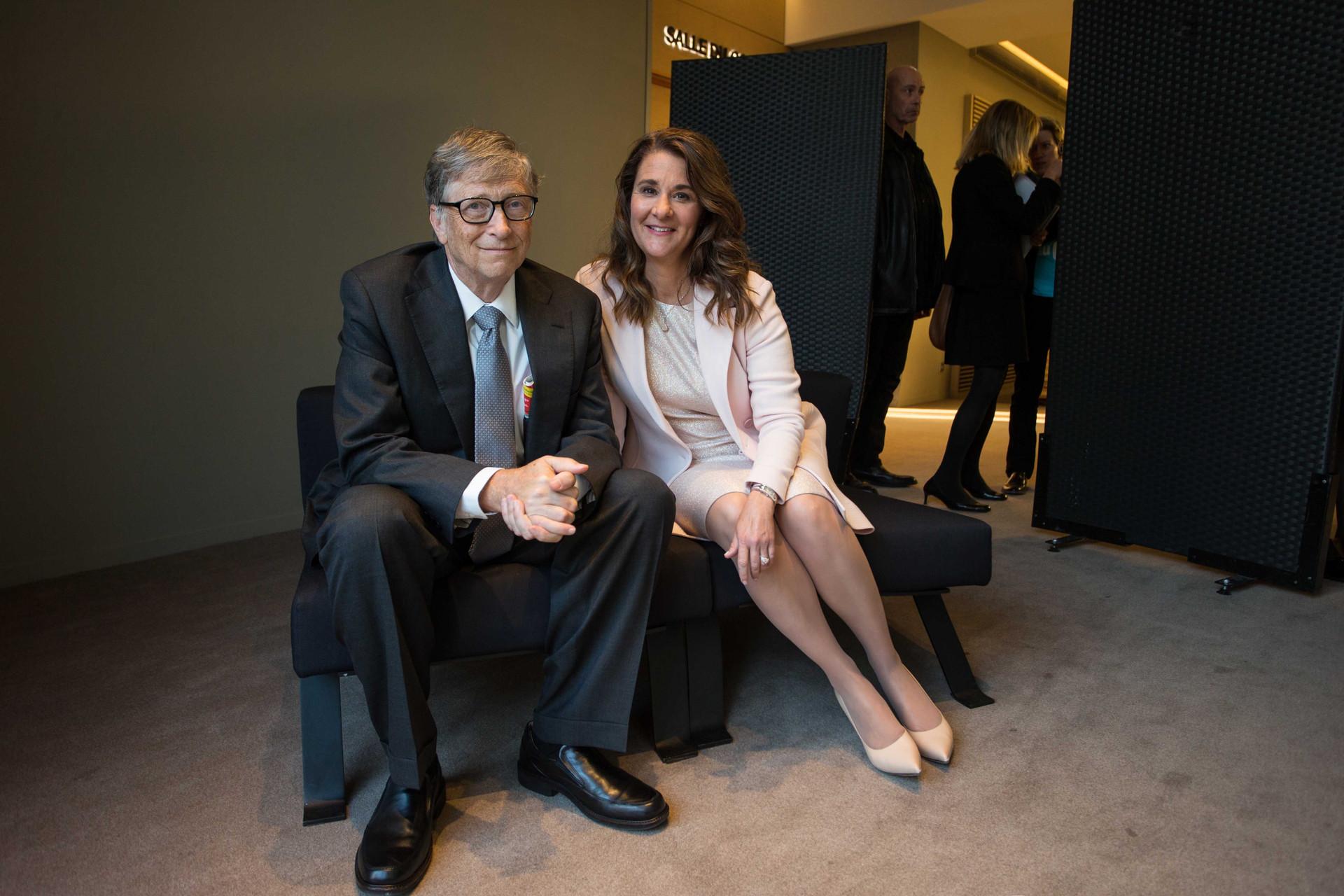 Bill et Melinda Gates, Paris, 2017