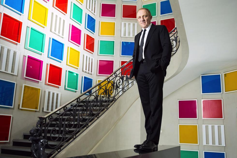 François-Henri Pinault, Paris, 2015