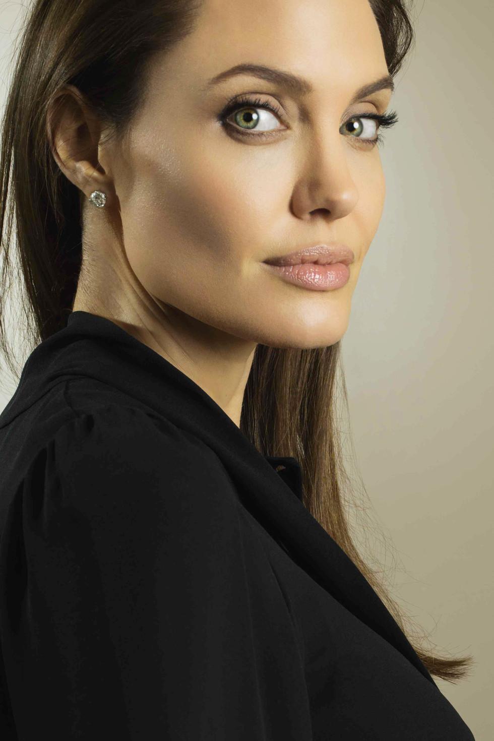 Angelina Jolie, Paris, 2014