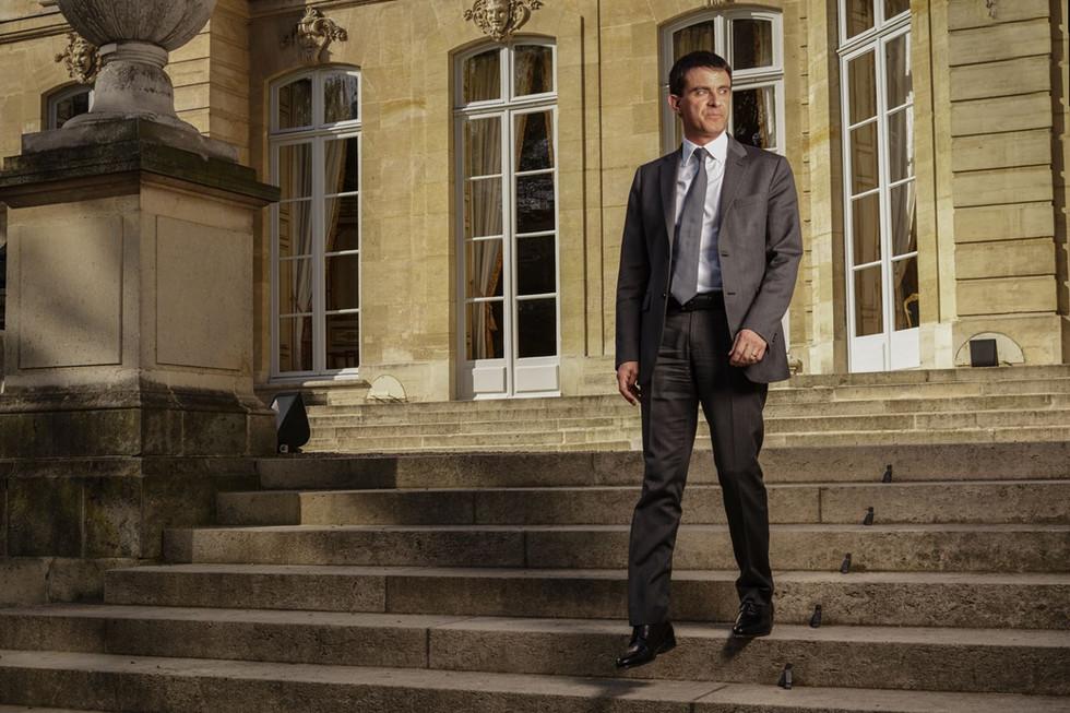 Manuel Valls, Paris, 2014