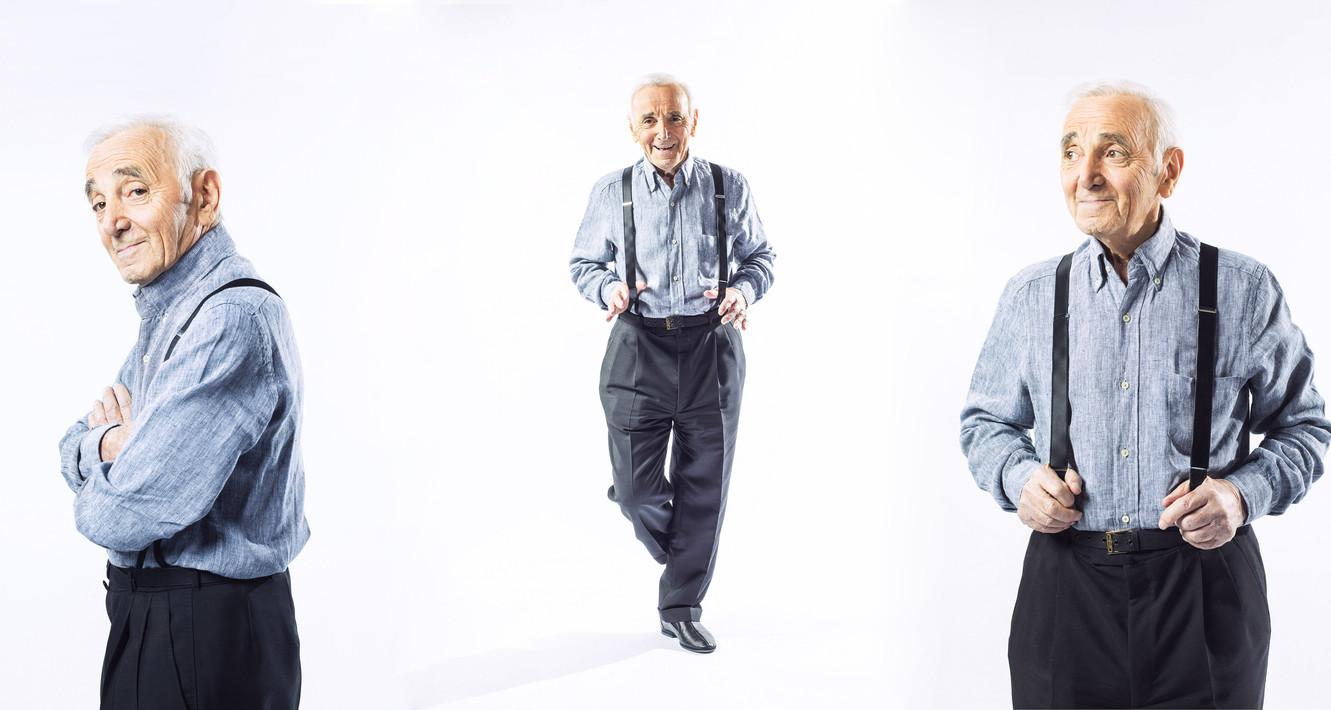 Charles Aznavour, Paris, 2015