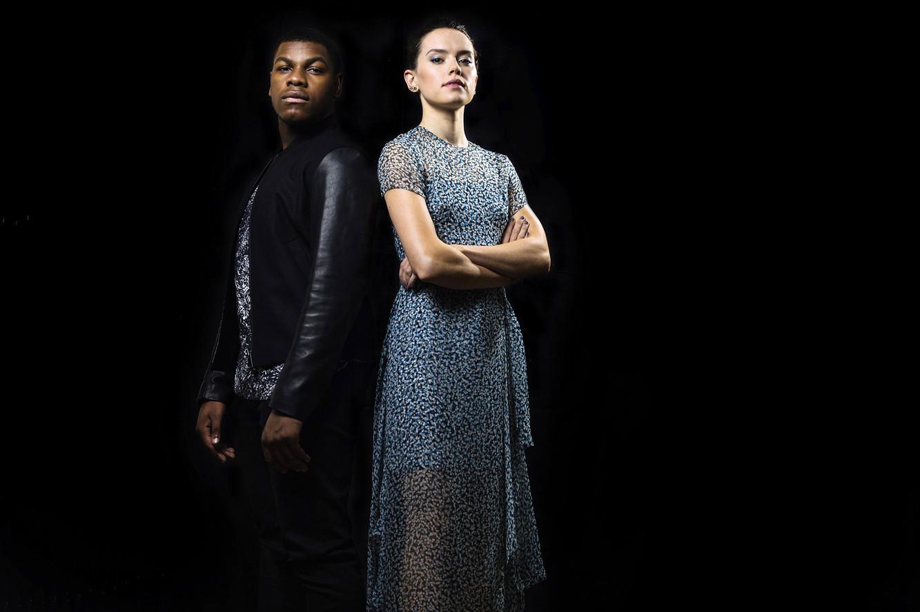 Daisy Ridley et John Boyega Londres, 2015