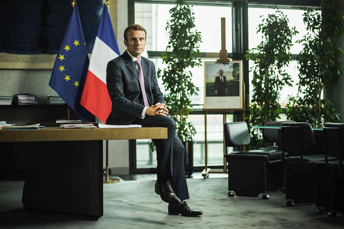 Emmanuel Macron, Paris, 2014