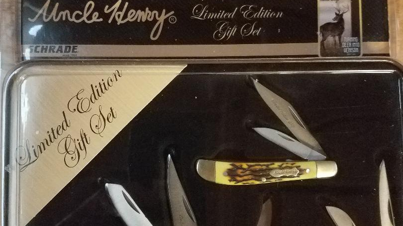 Uncle Henry Knife Gift Set