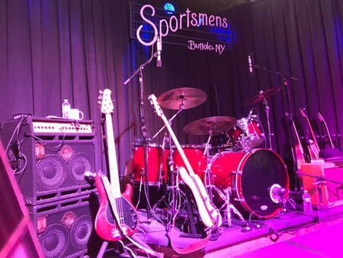 The Stage at Sportsmen's Tavern