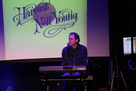 Luke bringing the keys and the harmonies.