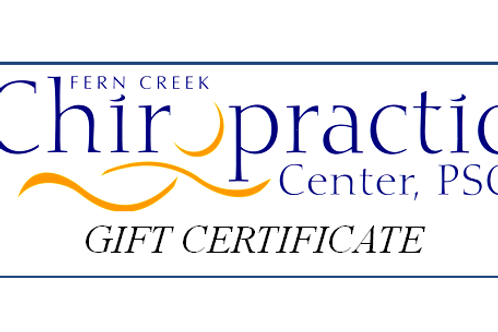 Massage Gift Certificate (Custom PDF file Emailed)
