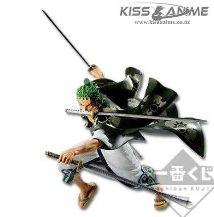 Bandai Ichiban Kuji One Piece Full Force Zorojuro Figure