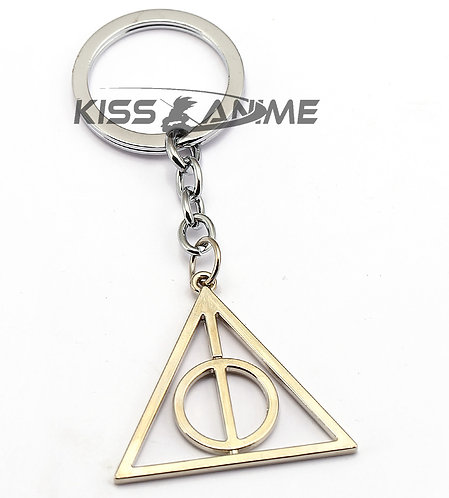 Harry Potter Death Symbol Keychain