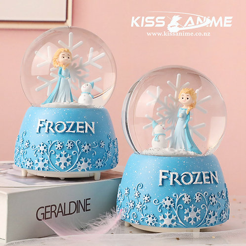 Frozen Elsa Crystal Ball Snowflake Music Box