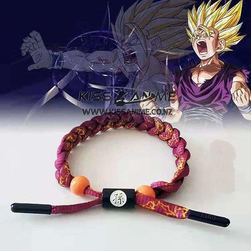 Dragon Ball Super Shoelace Bracelet(Gohan)