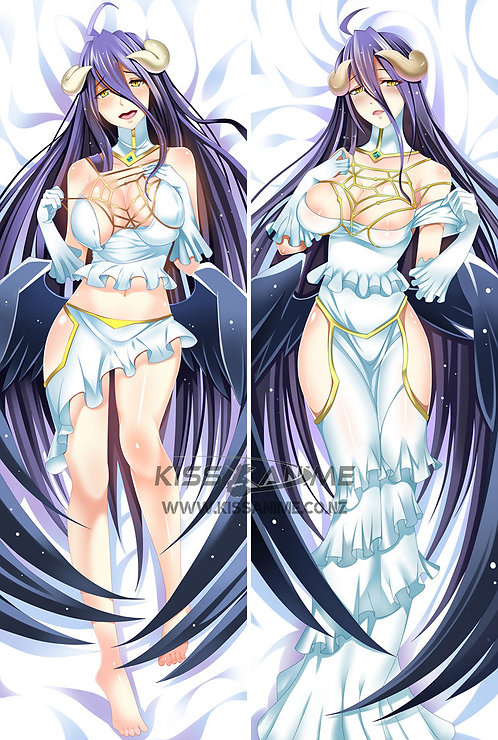 Overlord Albedo Dakimakura Hugging Body Pillow Package