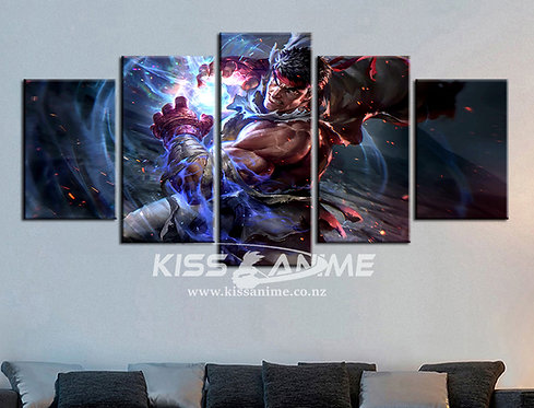 Street Fighter Canvas Painting