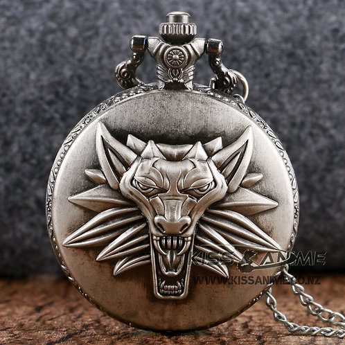 The Witcher Pendant Pocket Watch