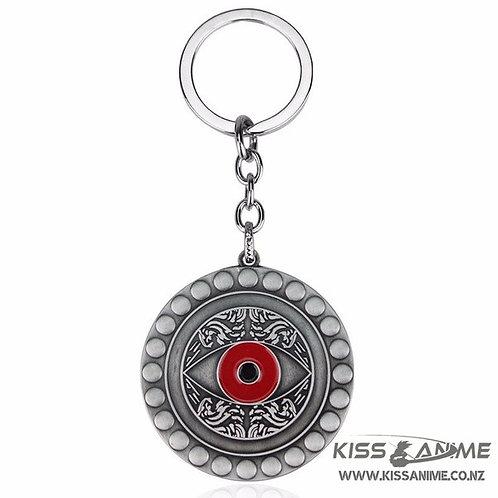 Marvel Doctor Strange Eye Of Agamotto Keychain