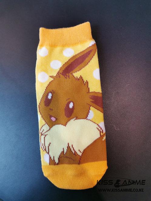 Pokemon Eevee Socks