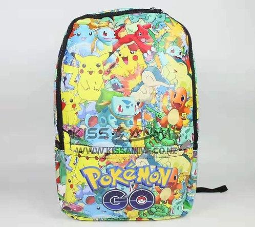 Pokemon Go Backpack School Bag
