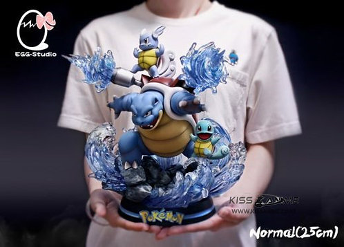 Egg Studio Pokemon Squirtle Family GK Resin Statue