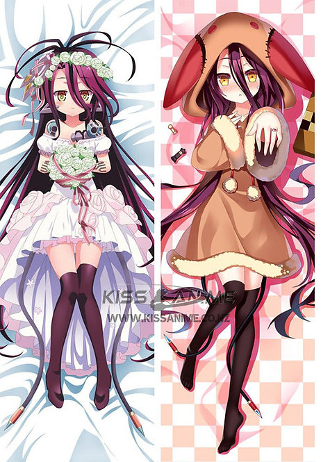 No Game No Life Shuvi Dola Dakimakura Hugging Body Pillow Package