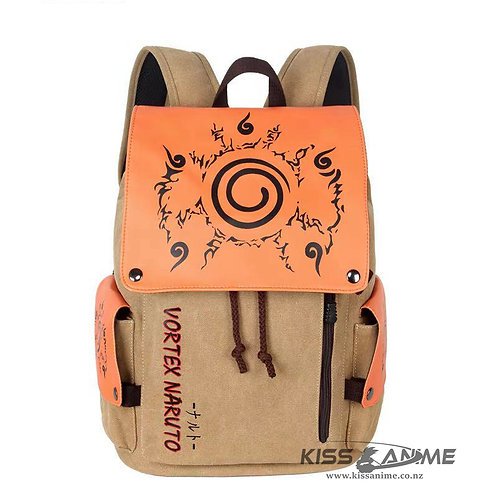 Naruto Backpack School Bag