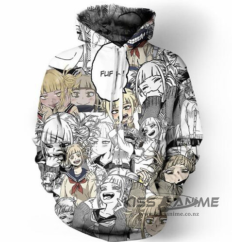 My Hero Academia Toga Himiko Pullover Jacket Sweatshirt