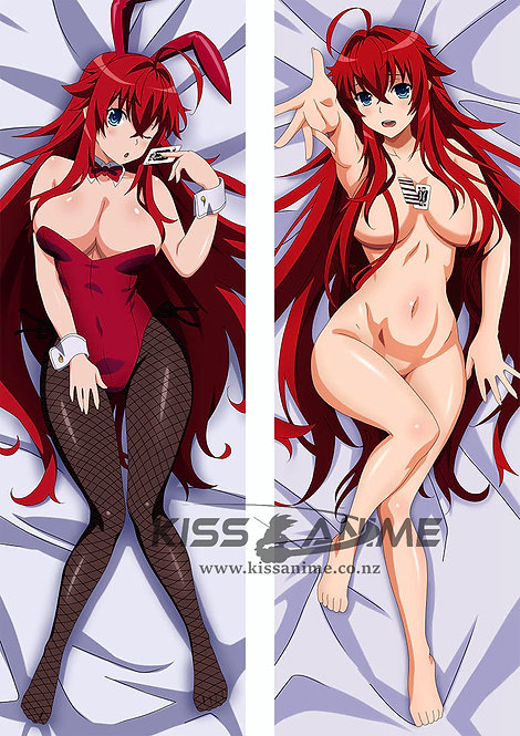 High School DxD  Rias Gremory Hugging Body Pillow