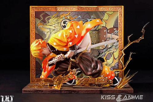PRE-ORDER Demon Slayer Agatsuma Zenitsu Resin  Statue TNT Studio 1/6 Scale GK