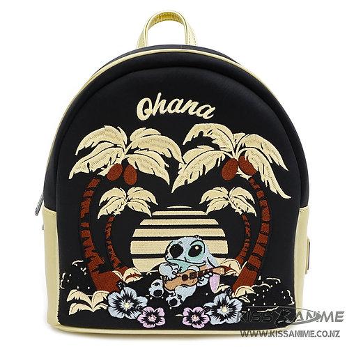Loungefly X Disney Lilo & Stitch Satin Mini Backpack