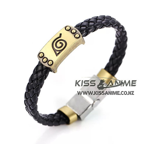 Naruto Konoha Ninja Logo Series Bracelet