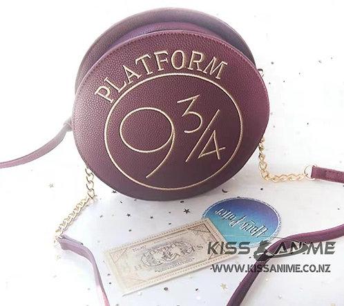 Harry Potter Hogwarts Railways 9 3/4 Circular Satchel Shoulder Bag