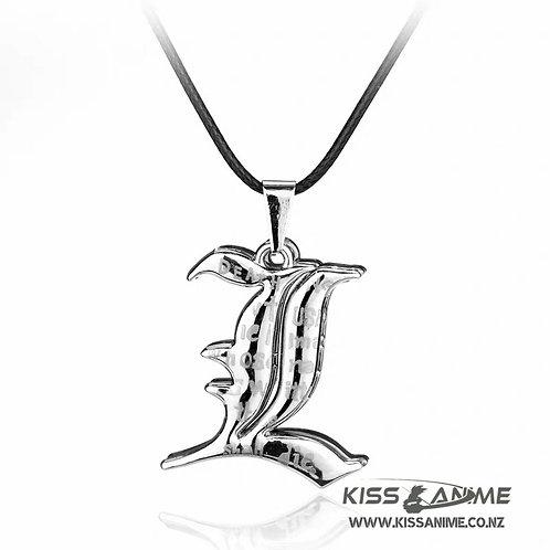 Death Note L Pendants Necklace