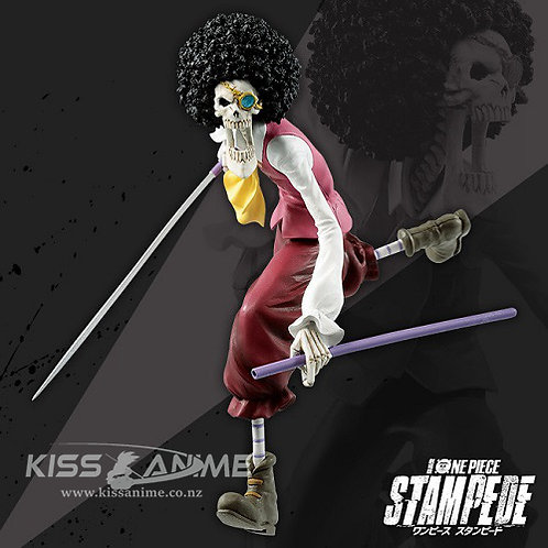 Banpresto One Piece Stampede: Brook Ichibansho Figure