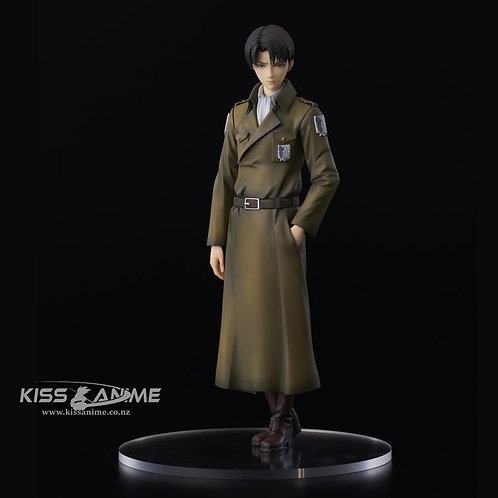 Attack on Titan Levi (Coat Style) Figure