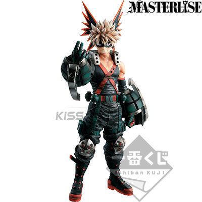 Ichiban kuji My Hero Academia One's Justice Masterlise figure Bakugo